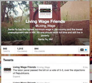 Living Wage New Mexico